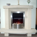 Fireplace in Residential Home