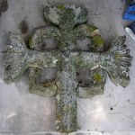 Before, Stone Cross at Steventon Church