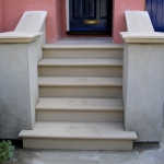Stone steps supplied and fixed in oxford : After